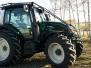 Valtra N104H5 s lesní nástavbou AGROOBCHOD