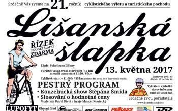 Zveme Vás na 21. ročník Lišanské šlapky